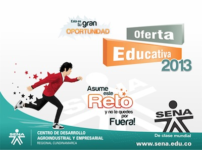 El Sena oferta educativa 2013  El Sena oferta educativa 2013
