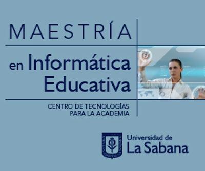 Maestria en Informatica Educativa
